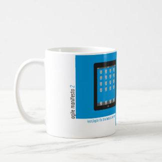 Agile Manifesto cup II Mug