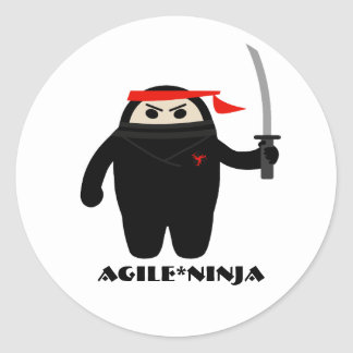 Agile Ninja Stickers