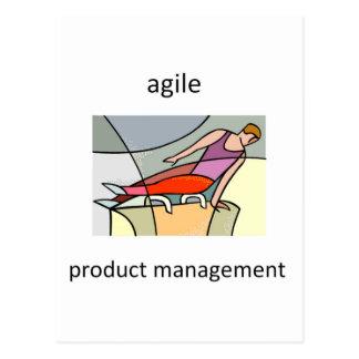 Agile Product Management Postcard