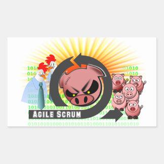 Agile Scrum Sticker - Customizable!
