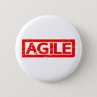 Agile Stamp 6 Cm Round Badge