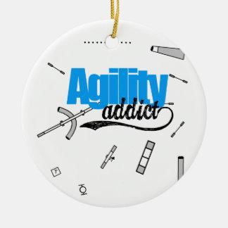 Agility Addict Ornament