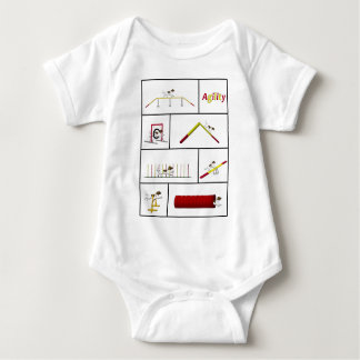 Agility altogether Münster countries Baby Bodysuit