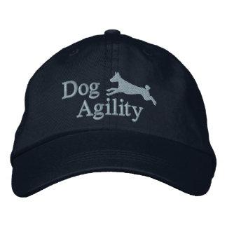 Agility Basenji Embroidered Hat (Dark)