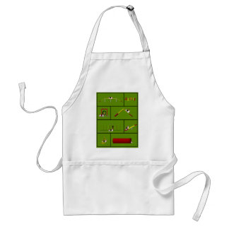 Agility Basset green Standard Apron