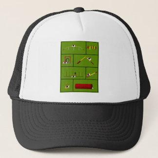 Agility Basset green Trucker Hat