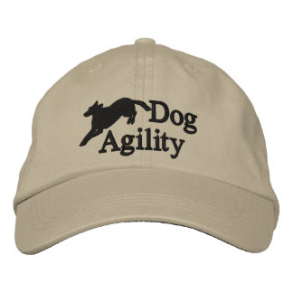 Agility Belgian Malinois Embroidered Hat
