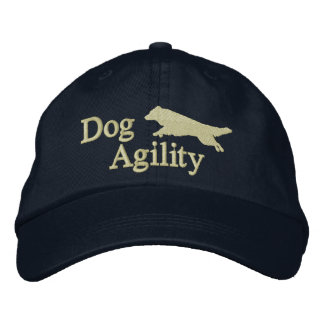 Agility Border Collie Dark Embroidered Hat