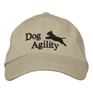 Agility Bull Terrier Embroidered Hat