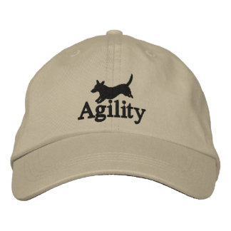 Agility Cardigan Welsh Corgi Embroidered Hat