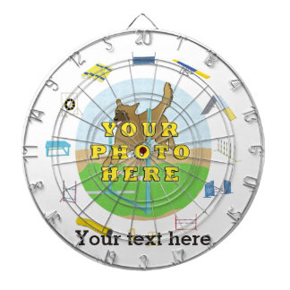 Agility Customize Photo Dart Boards