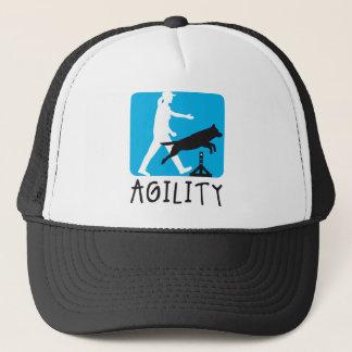 Agility dog sport trucker hat