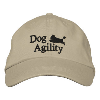 Agility Portuguese Water Dog Embroidered Hat