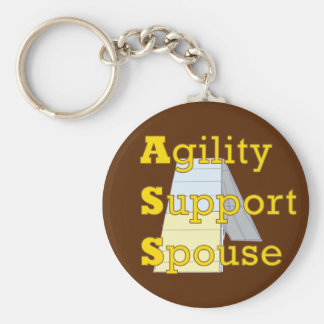 Agility Support Spouse 1 Key Ring