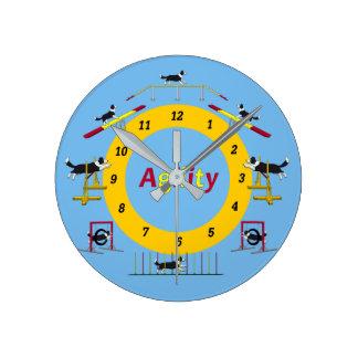 Agilityuhr Round Clock