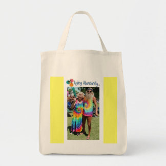 Aging Abundantly Tote Grocery Tote Bag