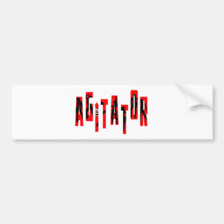 Agitator Bumper Sticker