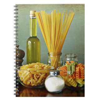 aglio, olio e peperoncino (garlic, oil and chili) notebook