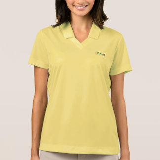 Agnes Nike Dri-FIT Pique Polo Shirt