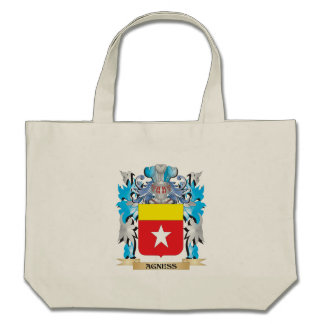 Agness Coat Of Arms Tote Bags