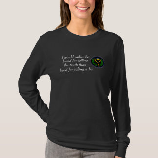 Agnostic Alliance Truth Love Dark T-Shirt Ladies