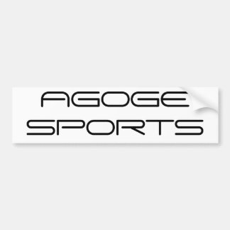 AGOGE SPORTS BUMPER STICKER