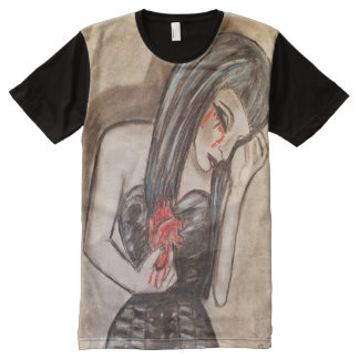 Agony All-Over Print T-Shirt