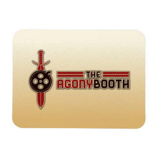 Agony Booth Logo Magnet
