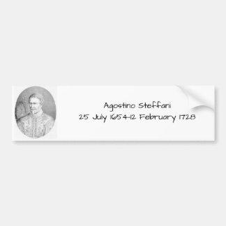 Agostino Steffani Bumper Sticker