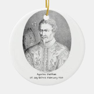 Agostino Steffani Ceramic Ornament