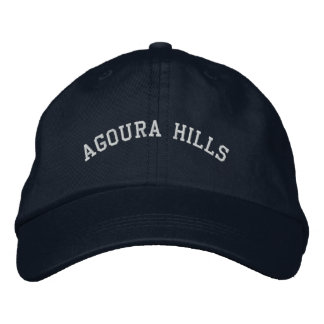 Agoura Hills Embroidered Hat