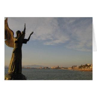 AGPV Angel Guarding Puerto Vallarta Card