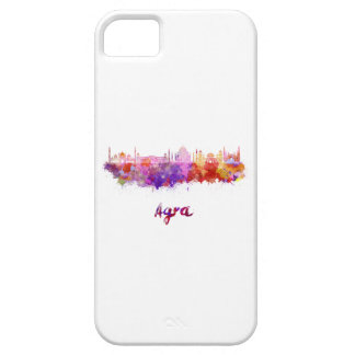 Agra skyline in watercolor iPhone 5 covers