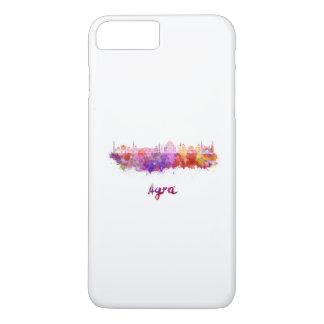 Agra skyline in watercolor iPhone 7 plus case