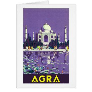 Agra ~ Taj Mahal Greeting Card
