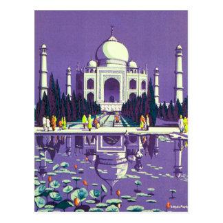 Agra ~ Taj Mahal Postcard
