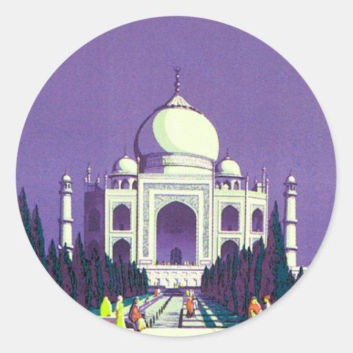 Agra ~ Taj Mahal Sticker