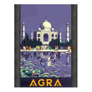 Agra, Vintage Post Cards