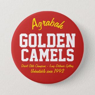 Agrabah Golden Camels 7.5 Cm Round Badge