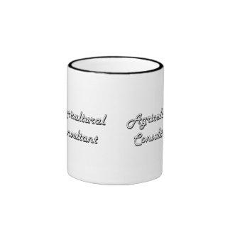 Agricultural Consultant Classic Job Design Ringer Mug