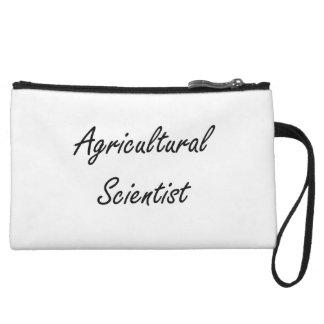 Agricultural Scientist Artistic Job Design Wristlet Purses