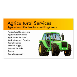 Agriculture Business Card Templates
