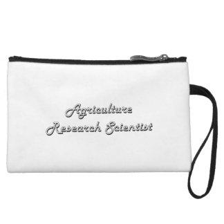 Agriculture Research Scientist Classic Job Design Wristlet Clutch