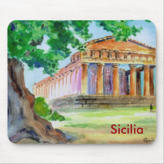 Agrigento Sicily Mouse Pad