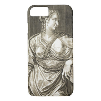 Agrippina wife of Tiberius (engraving) iPhone 7 Case