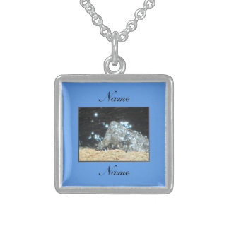 Agua Blue Custom Necklace