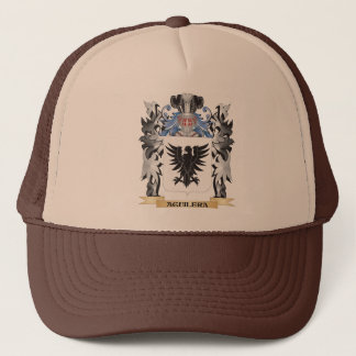 Aguilera Coat of Arms - Family Crest Trucker Hat