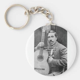 Agustín Pio Barrios 1910b Key Ring