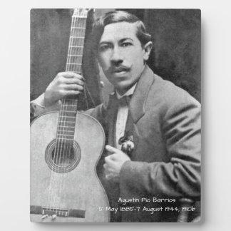 Agustín Pio Barrios 1910b Plaque
