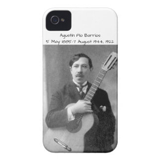 Agustín Pio Barrios, 1922 iPhone 4 Case